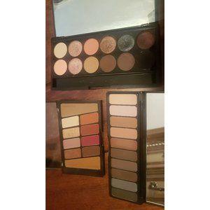 3 eyeshadow palette bundle!